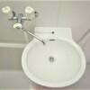 1K Apartment to Rent in Chiba-shi Hanamigawa-ku Washroom