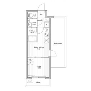 1DK Mansion in Sugamo - Toshima-ku Floorplan