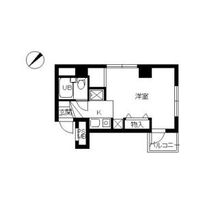 1R Mansion in Sagamigaoka - Zama-shi Floorplan