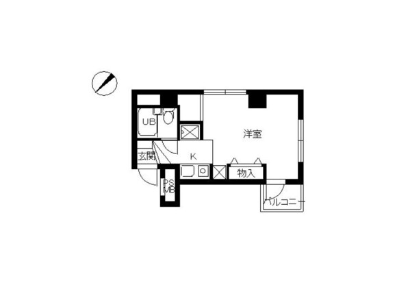 1R Apartment to Rent in Zama-shi Floorplan