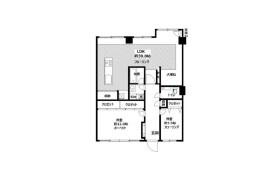 新宿区西新宿-2LDK公寓