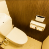 1LDK Apartment to Rent in Nakano-ku Toilet