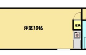 1R Apartment in Hakozaki - Fukuoka-shi Higashi-ku