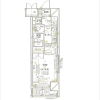 1K Apartment to Rent in Chiyoda-ku Floorplan