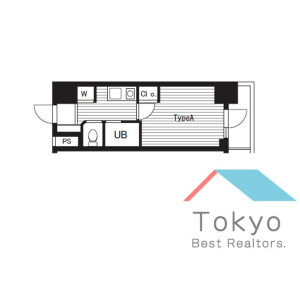 1K Mansion in Nihombashiningyocho - Chuo-ku Floorplan