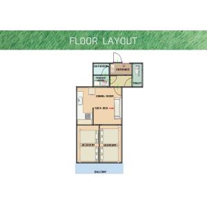 2LDK Mansion in Daimachi - Yokohama-shi Kanagawa-ku Floorplan