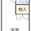 在福岡市中央區內租賃1K 公寓 的房產 房間格局