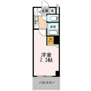1K Mansion in Kozu - Osaka-shi Chuo-ku Floorplan