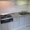 3DK Apartment to Rent in Minato-ku Kitchen