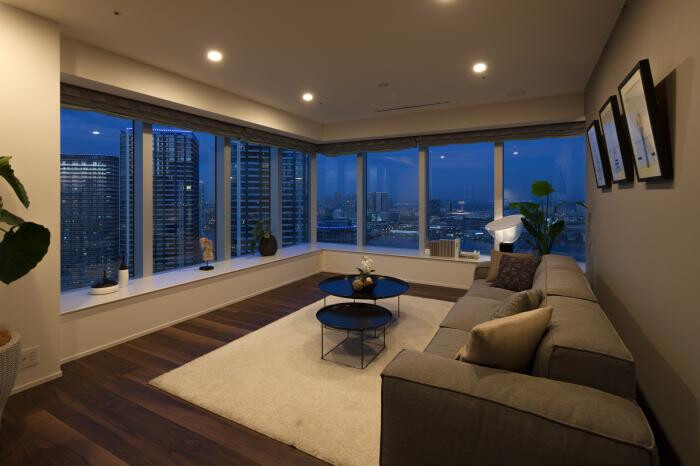 4LDK Apartment to Buy in Chuo-ku Living Room