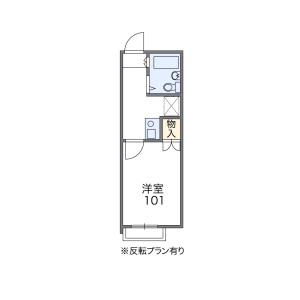 1K Apartment in Temmabashi - Osaka-shi Kita-ku Floorplan
