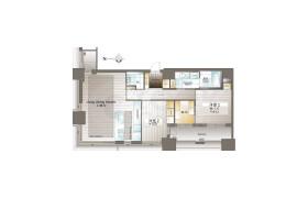 港區三田-2LDK{building type}
