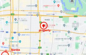 1R {building type} in Andojimachi - Osaka-shi Chuo-ku
