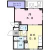 1DK Apartment to Rent in Shinagawa-ku Floorplan