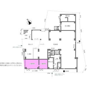 Shop {building type} in Nishigotanda - Shinagawa-ku Floorplan