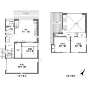 3LDK {building type} in Kori - Kunigami-gun Nakijin-son Floorplan