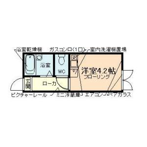 1R Apartment in Haneda - Ota-ku Floorplan