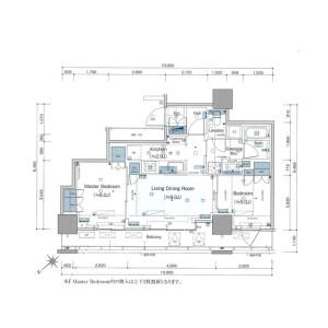 2LDK Mansion in Takinogawa - Kita-ku Floorplan
