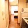 在中央區內租賃1K 公寓大廈 的房產 廚房