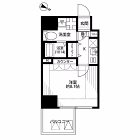 1K Mansion in Minowa - Taito-ku Floorplan