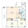 在澀谷區購買2LDK 公寓大廈的房產 房間格局