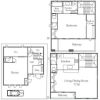 2SLDK House to Rent in Bunkyo-ku Floorplan