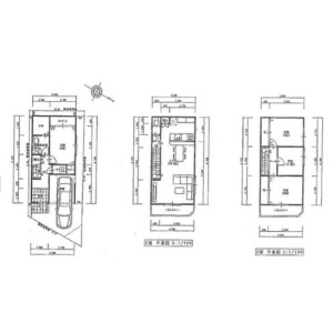 4LDK {building type} in Koemminamiyata - Osaka-shi Higashisumiyoshi-ku Floorplan