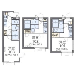 1K Mansion in Minamishinozakimachi - Edogawa-ku Floorplan