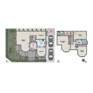 4LDK House in Hommoku midorigaoka - Yokohama-shi Naka-ku Floorplan