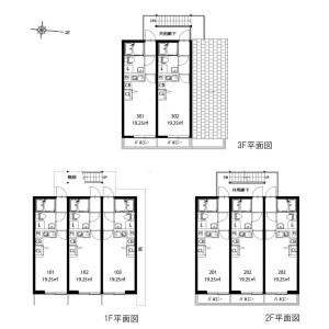 Whole Building Apartment in Chidori - Ota-ku Floorplan