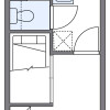1K Apartment to Rent in Osaka-shi Ikuno-ku Floorplan