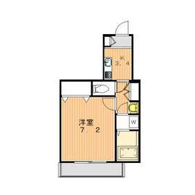 1K Apartment in Hatsudai - Shibuya-ku Floorplan