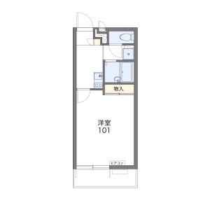 1K Mansion in Mikuriya higashi - Higashiosaka-shi Floorplan