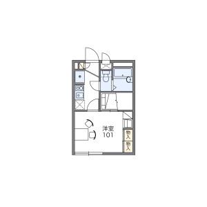 1K Apartment in Sobudai - Sagamihara-shi Minami-ku Floorplan