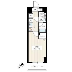 1K Mansion in Namiki - Kawaguchi-shi Floorplan