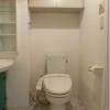 1R Apartment to Rent in Shibuya-ku Toilet