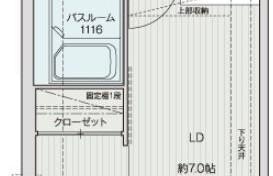 1LDK {building type} in Arato - Fukuoka-shi Chuo-ku