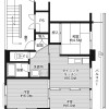 3DK Apartment to Rent in Fukushima-shi Floorplan