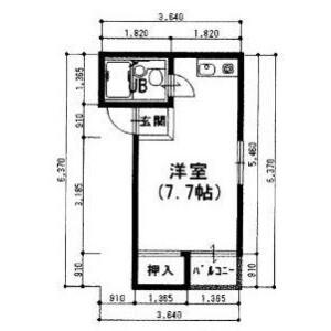 1R Mansion in Higashinodamachi - Osaka-shi Miyakojima-ku Floorplan