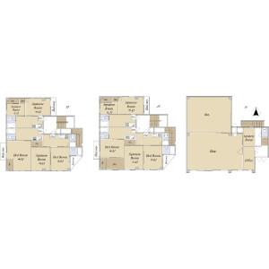 Whole Building {building type} in Daimachi - Hachioji-shi Floorplan