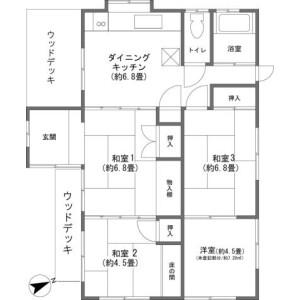 4DK {building type} in Hamamoto - Kunigami-gun Motobu-cho Floorplan