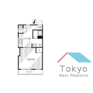 1DK Mansion in Numabukuro - Nakano-ku Floorplan