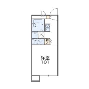 1K Apartment in Koguki - Shiraoka-shi Floorplan