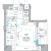 1K Apartment to Rent in Chuo-ku Floorplan