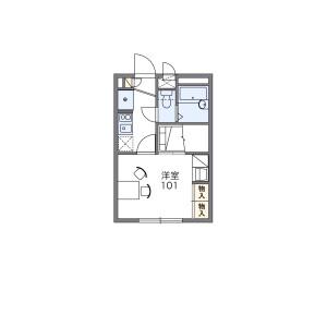 1K Apartment in Higashitakasagocho - Saitama-shi Urawa-ku Floorplan
