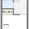 在横浜市保土ケ谷区内租赁1K 公寓 的 楼层布局