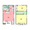 在横須賀市內租賃2LDK 獨棟住宅 的房產 房間格局
