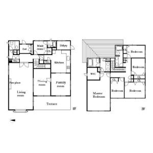 5LDK House in Nakamachi - Setagaya-ku Floorplan