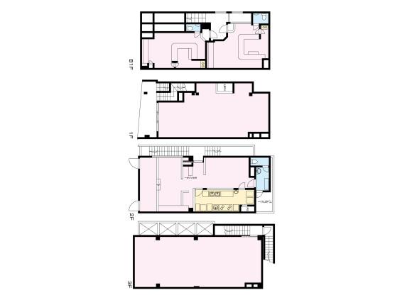 Whole Building Retail to Buy in Itabashi-ku Floorplan