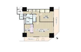 目黒区下目黒-1LDK公寓